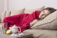 Frío y gripe imágenes de archivo libres de regalías