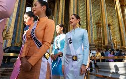 Miss Universe Thailand 2019, visit tour camping