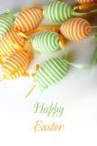Fröhliche Ostern. Lizenzfreie Stockbilder