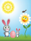 Fröhliche Ostern Stock Abbildung