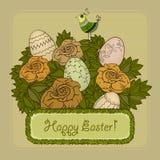 fröhliche Ostern Lizenzfreies Stockbild