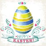 Fröhliche Ostern! Stockfotos