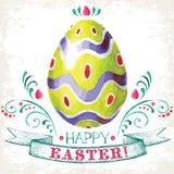 Fröhliche Ostern! Stockbilder