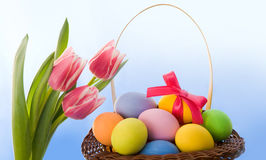Fröhliche Ostern! Stockfoto