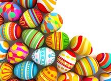 Fröhliche Ostern. Begriffsillustration Stockfotografie