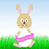 Fröhliche Ostern! Osterhase Lizenzfreie Stockfotografie