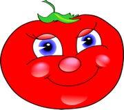Fröhliche Tomate Stockfotografie