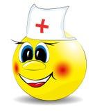 Fröhliches Lächeln des Doktors Lizenzfreies Stockfoto