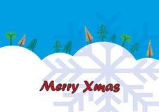 Fröhliches Weihnachten stock abbildung