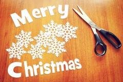 Fröhliches Weihnachtsabend Stockfotografie