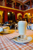 Fröjd Mexico för koffein för kaffekopp royaltyfri fotografi