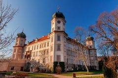 Fröskida Brdy för ek för slottMnÃÅ ¡ i Tjeckien arkivbilder