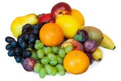 Früchte auf einer Platte Lizenzfreie Stockfotos