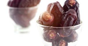 Früchte der getrockneten Dattel stock video footage