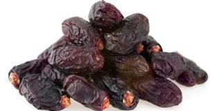 Früchte der getrockneten Dattel stock footage