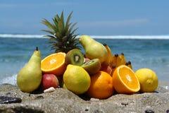 Früchte in der Masse Stockfotos