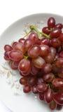 Früchte der roten Traube lizenzfreies stockbild