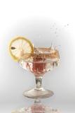 Früchte in einem Glas lizenzfreie stockfotografie