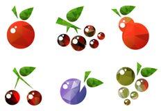 Früchte eingestellt Lizenzfreie Stockbilder