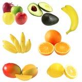 Früchte eingestellt lizenzfreies stockbild