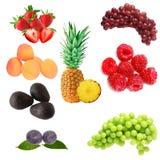 Früchte eingestellt stockfoto