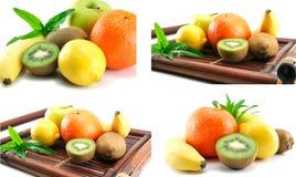 Früchte getrennt lizenzfreie stockfotografie