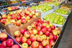 Früchte im Supermarkt Lizenzfreie Stockfotografie