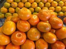 Früchte - Orangen Lizenzfreies Stockfoto