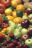 Früchte u. Gemüse Stockfotos