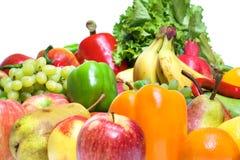 Früchte u. Gemüse stockbild