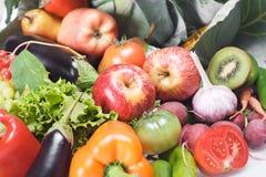 Früchte u. Gemüse lizenzfreie stockfotos