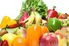 Früchte u. Gemüse lizenzfreie stockbilder