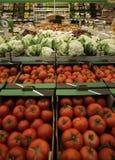 Früchte u. Gemüse auf Markt Lizenzfreies Stockbild