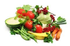 Früchte und Stockfoto