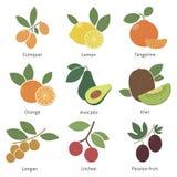 Früchte und Beeren Stockbilder