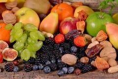 Früchte und Beeren stockbild