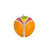 Früchte und Diät gegen Cellulite lizenzfreies stockfoto