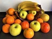 Früchte und Farben stockfotografie
