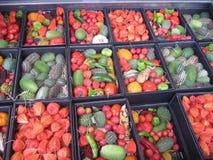 Früchte und Startwerte für Zufallsgenerator Stockbilder