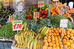 Früchte und Veggies Lizenzfreie Stockfotografie