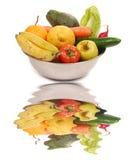 Früchte und Veggies Stockbilder