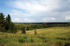Frühe Herbstlandschaft Stockfotos