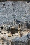 Früher mittelalterlicher Felsenentlastung Madara-Reiter vom Zeitraum des ersten bulgarischen Reiches, UNESCO-Weltkulturerbeliste, Stockfotos