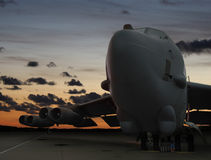 Früher Morgen B-52 Lizenzfreie Stockbilder