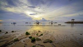 Früher Morgen in Bali Lizenzfreie Stockfotografie