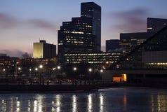 Früher Morgen in Cleveland lizenzfreies stockfoto