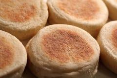 Früher Morgen-englische Muffins stockbilder