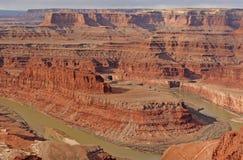 Früher Morgen-Licht im Canyonlands Stockfotos