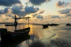 Früher Morgen in Thailand Lizenzfreie Stockfotografie