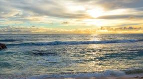 Früher Sonnenuntergang Lizenzfreies Stockfoto